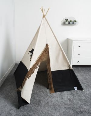 Namiot tipi, Cozy Dots Black