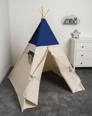 Namiot, tipi, Cozy Dots Just Blue