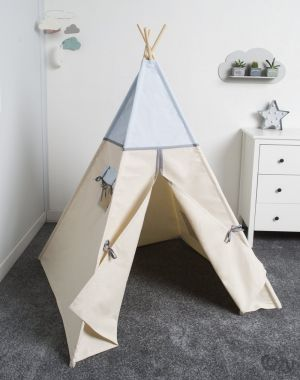 Namiot, tipi, Cozy Dots Light Blue